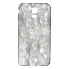 Abstract In Silver Samsung Galaxy S5 Back Case (white)