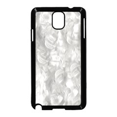 Abstract In Silver Samsung Galaxy Note 3 Neo Hardshell Case (Black)