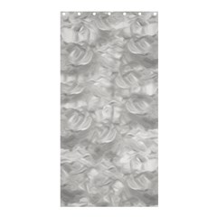 Abstract In Silver Shower Curtain 36  X 72  (stall)