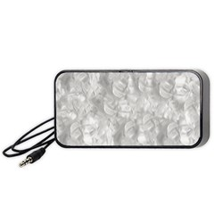 Abstract In Silver Portable Speaker (black)