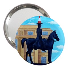 Glasgow Duke Of  Wellington 3  Handbag Mirror