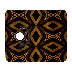 Tribal Diamonds Pattern Brown Colors Abstract Design Samsung Galaxy S  Iii Flip 360 Case