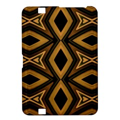 Tribal Diamonds Pattern Brown Colors Abstract Design Kindle Fire HD 8.9  Hardshell Case