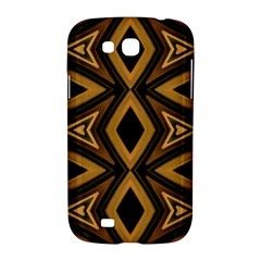 Tribal Diamonds Pattern Brown Colors Abstract Design Samsung Galaxy Grand GT-I9128 Hardshell Case