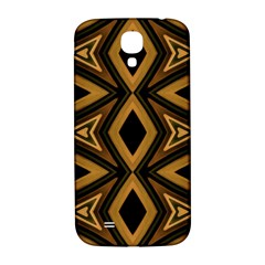Tribal Diamonds Pattern Brown Colors Abstract Design Samsung Galaxy S4 I9500/I9505  Hardshell Back Case