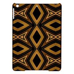 Tribal Diamonds Pattern Brown Colors Abstract Design Apple iPad Air Hardshell Case