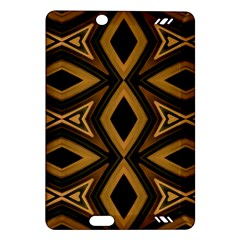 Tribal Diamonds Pattern Brown Colors Abstract Design Kindle Fire HD 7  (2nd Gen) Hardshell Case