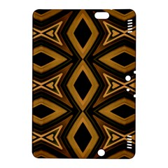 Tribal Diamonds Pattern Brown Colors Abstract Design Kindle Fire HDX 8.9  Hardshell Case
