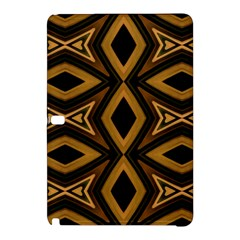 Tribal Diamonds Pattern Brown Colors Abstract Design Samsung Galaxy Tab Pro 10.1 Hardshell Case