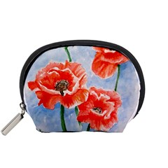 Poppies Accessory Pouch (Small)