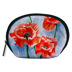 Poppies Accessory Pouch (Medium)