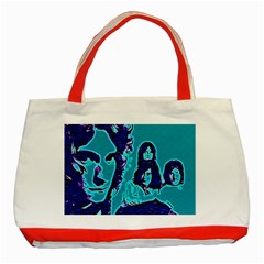 Led Zeppelin Digital Painting Classic Tote Bag (Red)