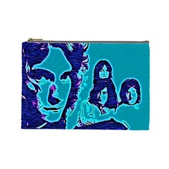 Led Zeppelin Digital Painting Cosmetic Bag (large)