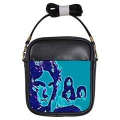 Led Zeppelin Digital Painting Girl s Sling Bag