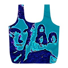 Led Zeppelin Digital Painting Reusable Bag (l)