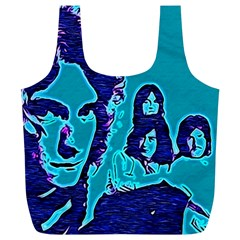 Led Zeppelin Digital Painting Reusable Bag (xl)