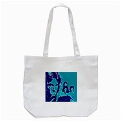 Led Zeppelin Digital Painting Tote Bag (White)