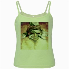 Tentacles Of Pain Green Spaghetti Tank