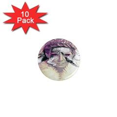 Tentacles Of Pain 1  Mini Button Magnet (10 pack)