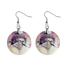 Tentacles Of Pain Mini Button Earrings