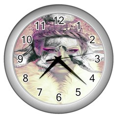 Tentacles Of Pain Wall Clock (Silver)