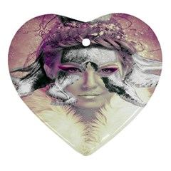 Tentacles Of Pain Heart Ornament (two Sides)