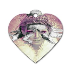 Tentacles Of Pain Dog Tag Heart (Two Sided)