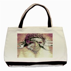 Tentacles Of Pain Twin-sided Black Tote Bag