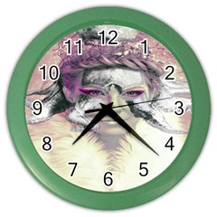 Tentacles Of Pain Wall Clock (Color)
