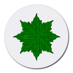 Decorative Ornament Isolated Plants 8  Mouse Pad (round)
