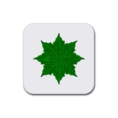 Decorative Ornament Isolated Plants Drink Coasters 4 Pack (square)