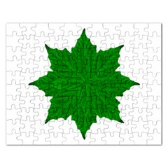 Decorative Ornament Isolated Plants Jigsaw Puzzle (rectangle)