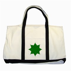Decorative Ornament Isolated Plants Two Toned Tote Bag