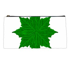 Decorative Ornament Isolated Plants Pencil Case