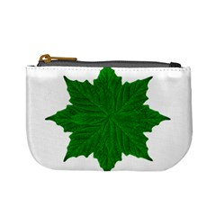 Decorative Ornament Isolated Plants Coin Change Purse
