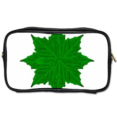 Decorative Ornament Isolated Plants Travel Toiletry Bag (two Sides)