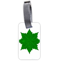 Decorative Ornament Isolated Plants Luggage Tag (One Side)