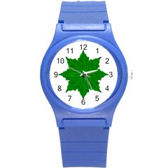 Decorative Ornament Isolated Plants Plastic Sport Watch (Small)