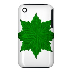 Decorative Ornament Isolated Plants Apple Iphone 3g/3gs Hardshell Case (pc+silicone)