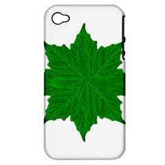 Decorative Ornament Isolated Plants Apple Iphone 4/4s Hardshell Case (pc+silicone)