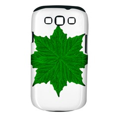 Decorative Ornament Isolated Plants Samsung Galaxy S Iii Classic Hardshell Case (pc+silicone)