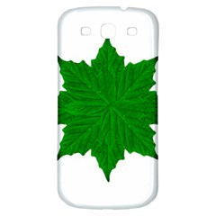 Decorative Ornament Isolated Plants Samsung Galaxy S3 S Iii Classic Hardshell Back Case