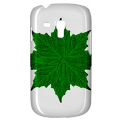 Decorative Ornament Isolated Plants Samsung Galaxy S3 Mini I8190 Hardshell Case