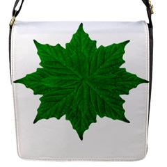 Decorative Ornament Isolated Plants Flap Closure Messenger Bag (Small)
