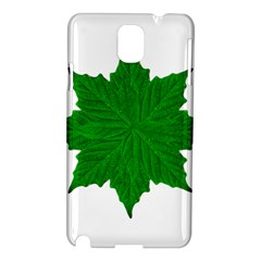 Decorative Ornament Isolated Plants Samsung Galaxy Note 3 N9005 Hardshell Case