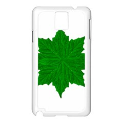 Decorative Ornament Isolated Plants Samsung Galaxy Note 3 N9005 Case (White)
