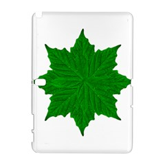 Decorative Ornament Isolated Plants Samsung Galaxy Note 10.1 (P600) Hardshell Case
