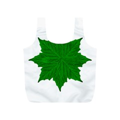 Decorative Ornament Isolated Plants Reusable Bag (S)