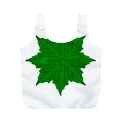 Decorative Ornament Isolated Plants Reusable Bag (M)