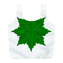 Decorative Ornament Isolated Plants Reusable Bag (l)